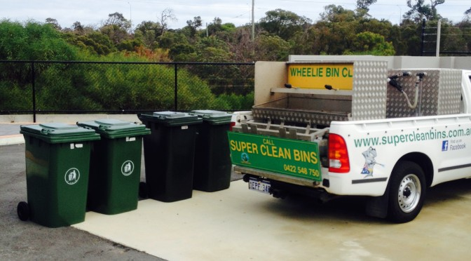 City of Stirling bin clean service