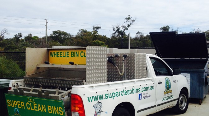 Commercial and domestic bin cleaning